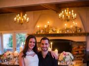 At a February engagement party at DeLille Cellars in Woodinville, some 40 guests gathered to celebrate with Desiree Hartsock and Chris Siegfried. An end-of-year wedding is planned.