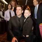 After lots of ribbing, Aaron Rodgers gets serious at MACC Fund benefit