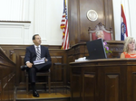 Katz trial: A-B salary reviews on golf course, yachts