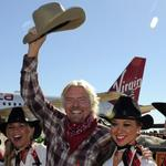 Sir Richard Branson does Dallas to aid Virgin America expansion push
