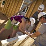 In Pictures: TBJ's 40 Under 40 winners busy at Habitat build