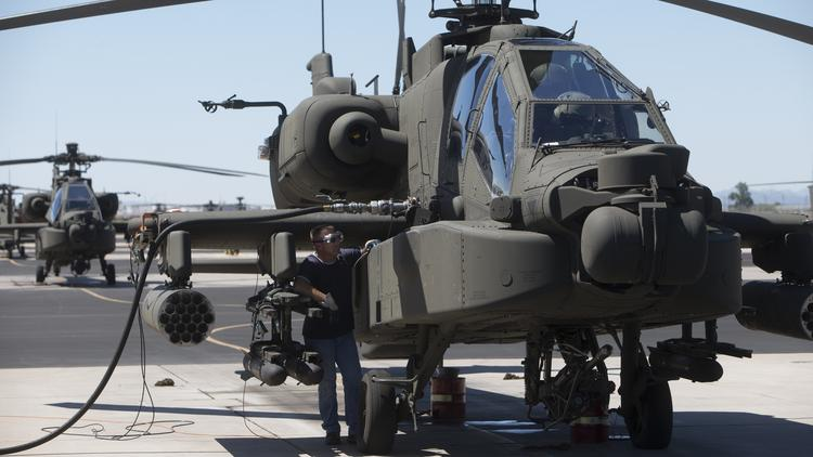 Boeing's Apache Helicopters are built in Mesa.