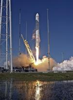 A new chapter: Orbital Sciences can close the book on past  failures with successful Antares rocket launch