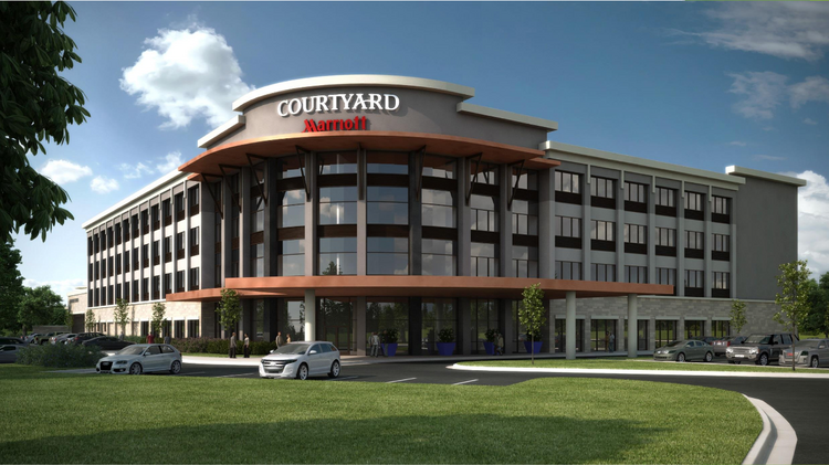 Pflugerville S Second Hotel Will Be A 20 Million Courtyard By Marriott The And