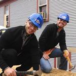 Ryan Braun returns for Habitat for Humanity 'Blitz Build' - Slideshow