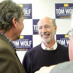 Tom Wolf: Out of gate early, leading down stretch