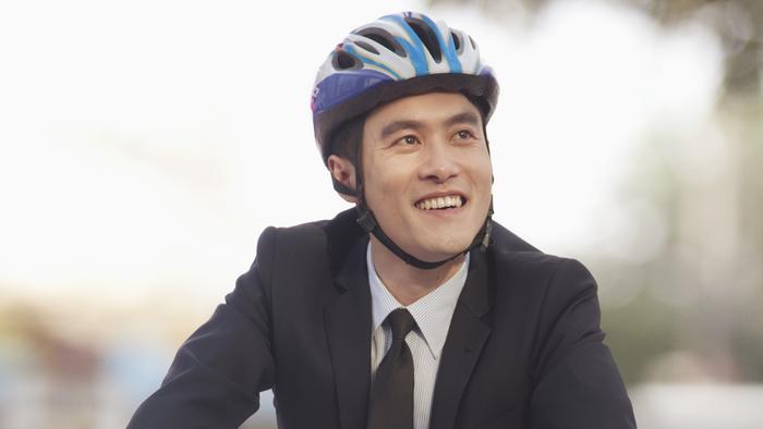 Do you ever bike to work?