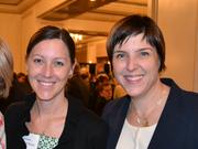 Jennifer Lockwood-Shabat, left, will succeed Nicky Goren, right, as president and CEO of the Washington Area Women's Foundation.