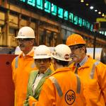 Photos: U.S. Commerce Secretary <strong>Pritzker</strong> visits U.S. Steel's Irvin Plant