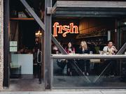 Chippy's Fish and Drink, Ethan Stowell's tenth restaurant, opened this week in Ballard next to Staple & Fancy.