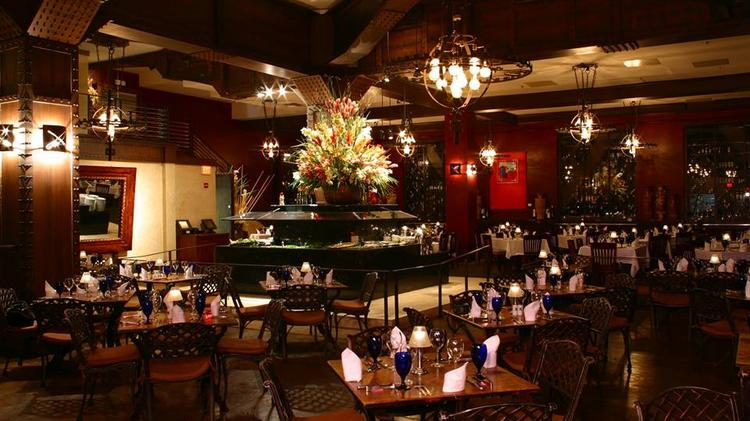 A View Of The Dining Room At Memphis Location Texas De Brazil