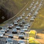 If you're traveling next week, get ready for traffic jams