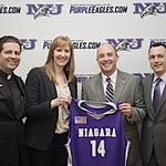 Niagara U. intros new athletic director