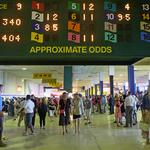 Wagering at Maryland's race tracks drop in 2014