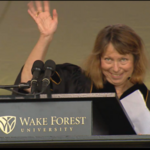 Ousted NYT editor to Wake Forest grads: 'I'm in the same boat'