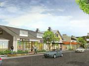 Totaling 20,000 square feet, three buildings in the Springfield development will face a street to be called Mercantile Place, which ends with Springfield Parkway.