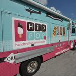 Frozen treat entrepreneur takes his business on the road (Video)
