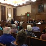 Chatham Park supporters, critics come out in droves for final hearing