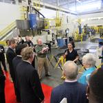 U.S. lawmakers tour Siemens, press for passage of federal Workforce Innovation Act to reform work-force training