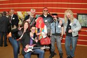 JJR Solutions, one of the winners of the 2013 Best Places to Work, came ready to rock.
