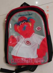 A Gapper backpack created by Associated Premium Corp. for Reds fans