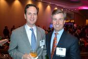 Paul Weinschenk, left, of Washington Real Estate Investment Trust and David Ward of H&R Retail.