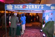 Guests at the Best Real Estate Deals event enjoyed Ben & Jerry's ice cream after dinner.