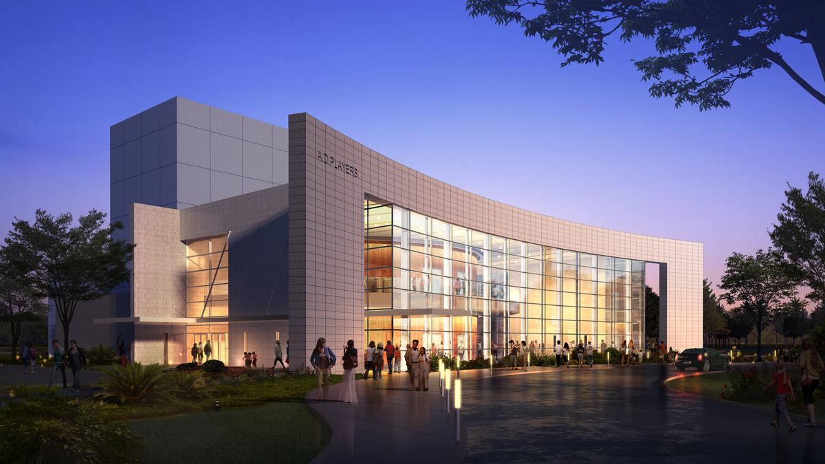 Adplayers 2021 Christmas Show See Inside A D Players New Theater In Houston S Galleria Area Video Houston Business Journal