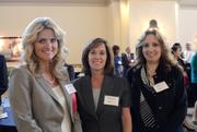From left: Women Who Mean Business honoree Tammy Giaimo of Software Resources with co-workers Karen Herzog and Christina Krivickas.