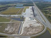 An aerial shot of Central Florida Intermodal Logistics Center in Winter Park.