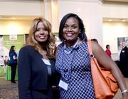 Sadia Sewnauth of Florida Blue and Rachel Andre of AWK Consulting Engineers Inc.