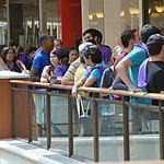 Aventura's Microsoft store opening draws hundreds