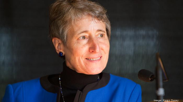 Sally Jewell blasts Trump administration, says actions don't match their words