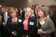 From left, Charlotte Trump and Angela Rice, both of Chicago Title, with Bari Nichols of Lincoln Property Co.