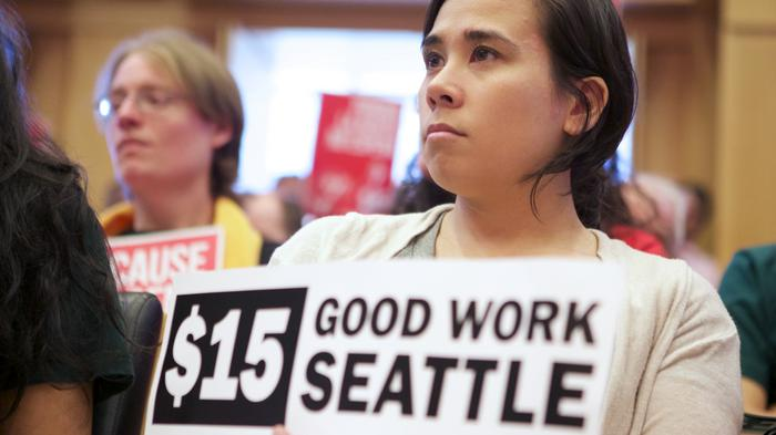 With rising rents factored in, Seattle restaurant workers' pay is declining despite wage hike