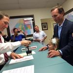 Lenny Curry officially files to run for mayor of Jacksonville