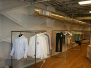 Ministry of Supply is preparing to open a 1,300-square-foot pop-up store at 299 Newbury St. in Boston's Back Bay on Friday.
