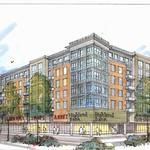 Developers propose six-story apartment and retail building near Ridgedale