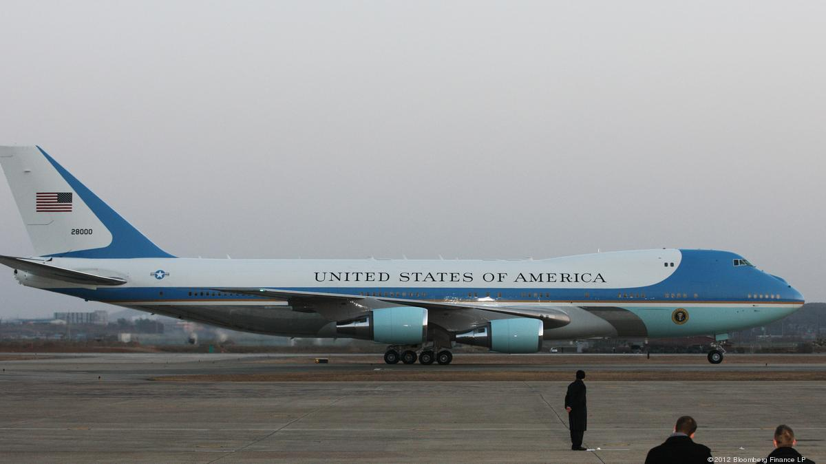 A Donald Trump Tweet Casts Doubt On Boeing Order For Air Force One 747 Puget Sound Business Journal