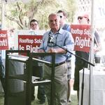 Hundreds rally at State Capitol against solar property tax (Video)