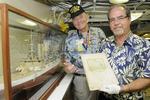 Century-old cruise book highlights first Battleship Missouri's trip around the world