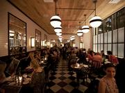 The dining room at The Smith, a New York City brasserie preparing to expand into D.C. at the CityCenterDC development