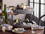 What's a brasserie without a seafood tower? The Smith's raw bar is one of its most popular offerings.