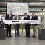 <strong>Kohler</strong> Power Systems completes Mosel expansion, will add 300 workers