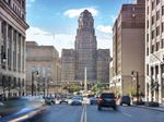 Buffalo City Hall and its surrounding.