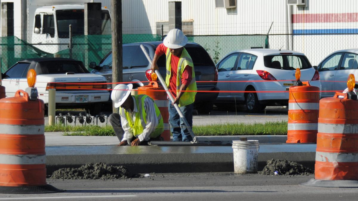 Construction contracts are available for road work near