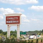 Charlotte Premium Outlets 50 days from July grand opening (PHOTOS)