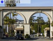 """The gates of the Paramount Pictures studios scream """"Hollywood."""" The """"company town"""" entertainment sector is a big employer in Los Angeles, where workers earn an average of $51,990 a year."""