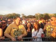 The concert crowd at Artpark.