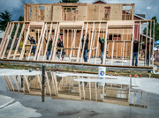 Work in progress: builders say working on the Home Builders Blitz created a great sense of camaradarie between rival firms
